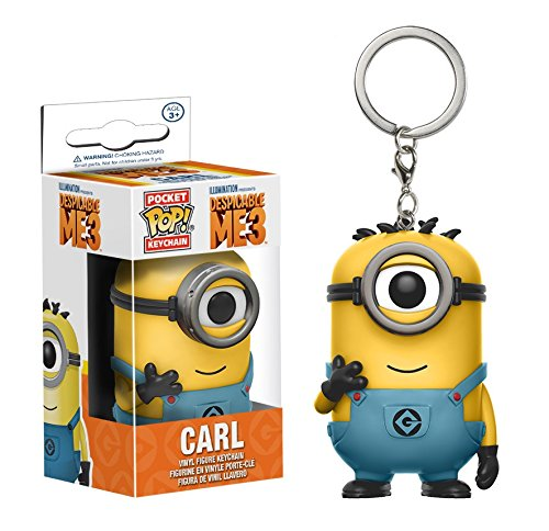Funko POP! KEYCHAIN: Despicable Me 3 - Carl (In Minion Jumpsuit)