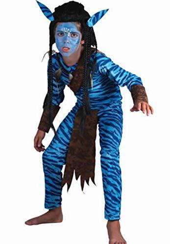 Fyasa 706040-t03Jungle Warrior disfraz, tamaño mediano