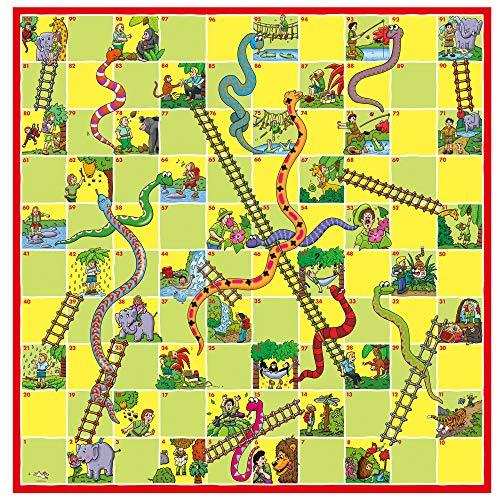 Galt Toys Ludo-Serpientes y Escaleras, Multicolor, 3+ (Galt America A0528E)