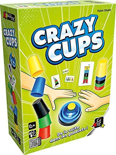 GIGAMIC amhcc–Juego de Reflejo Crazy Cups