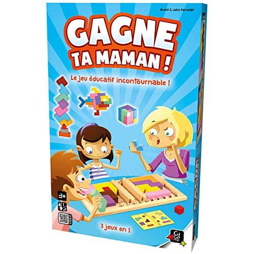 Gigamic - Juego de reflexión Gagne ta Maman, GZFGM