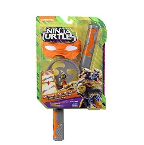 Giochi Preziosi TUV09000 - Tortugas Ninja, Máscara y arma Ninja, colores surtidos