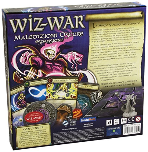 Giochi Uniti Estadounidenses Juegos - Wiz Guerra Juego de Mesa, Oscuro Maldiciones, Expansión Guerra Wiz