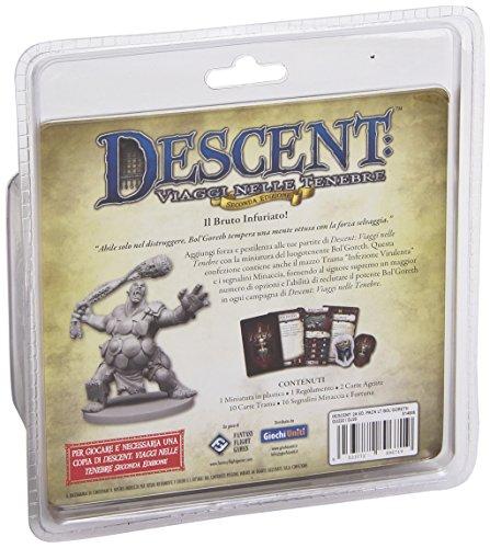 Giochi Uniti GU222 – Descent Segunda Edición Pack Luogotenente Bol'Goreth Edición Italiana