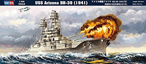 Hobby Boss 83401 USS Arizona BB-39 (1941) - Barco de guerra [importado de Alemania]