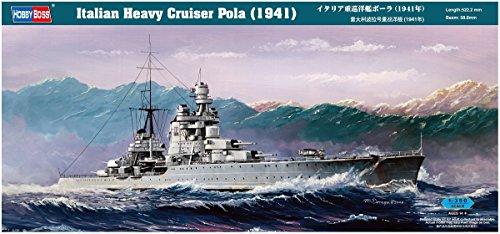 Hobby Boss 86502 - Crucero italiano Pola (1941) [importado de Alemania]