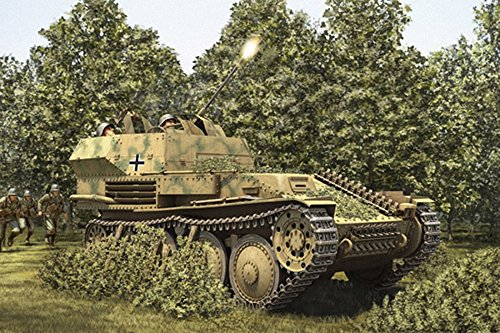 """Hobbyboss 80140""""alemán a Escala 1: 352cm Flak 38pz. Kpfw .38(T) Kit de plástico Modelo"""
