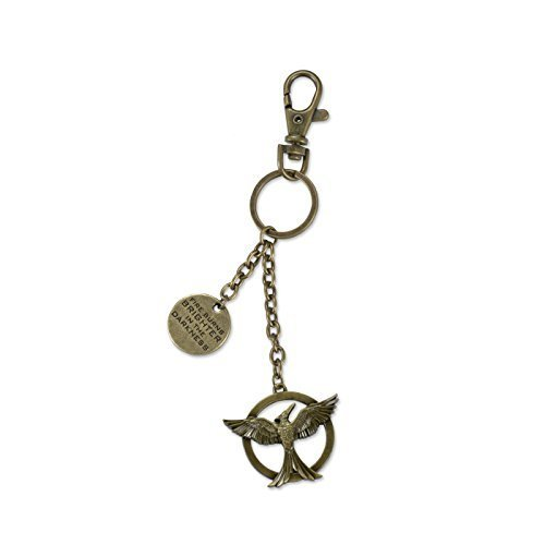 """Hunger Games Mockingjay Movie Part 1 - Bag Clip """"The Fire Burns"""" opt 2 by NECA"""
