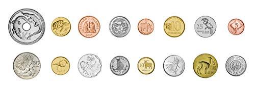 IMPACTO COLECCIONABLES 16 Monedas Originales de Animales, de 16 países Diferentes - Colección Miracles of Nature Animals