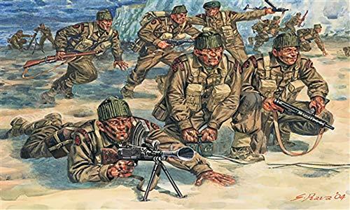 Italeri 6064S - Segundo La Primera Guerra Mundial comandos británicos