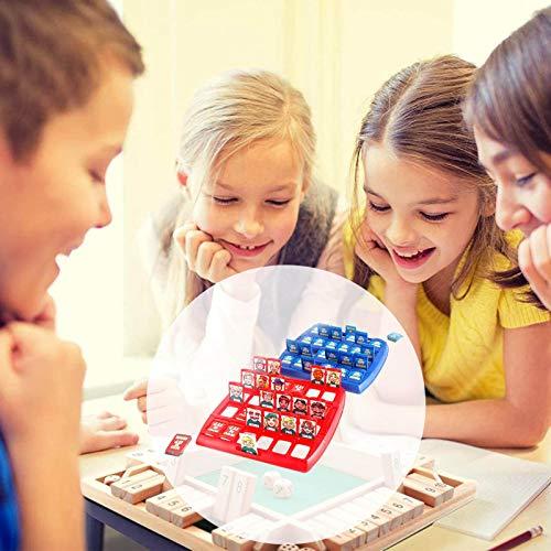 Juego De Mesa Para Niños De Razonamiento Lógico: Adivina Quién Es, Juguetes Interactivos Multijugador De Personajes Para Padres E Hijos, Juego De Mesa Para Niños Juego Interactivo Para Padres E Hijos