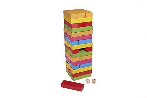 Juguetutto - Yenga Colores - Juguete de Madera