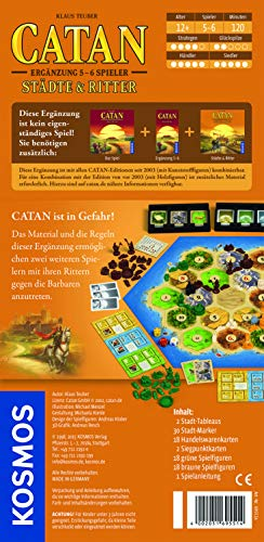 Kosmos 6955140 - Die Siedler von Catan, de 5 hasta 6 jugadores