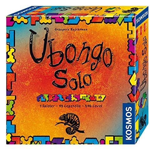 Kosmos FKS6942030 694203 Ubongo Solo 1 Jugador, 45 Piezas de Puesta de 546 Niveles, Juego de Mesa a Partir de 8 años
