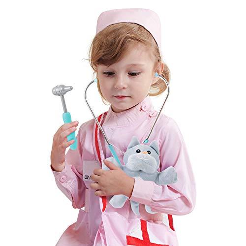 LBLA Médico Juguete,Doctora Juguete,Fingir Juego Herramientas para Niños de 3 4 5 6 Niñas