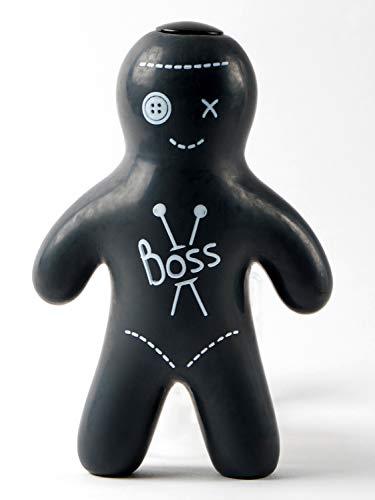 Legami - Muñeco antiestrés, diseño de vudú con la inscripción «boss»
