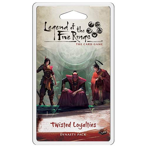 Legend of The Five Rings LCG: Twisted Lealtades Dynasty Pack