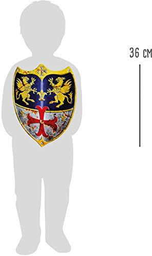 Legler - 2020910 - Disfraces de Accesorios - Arma - Escudo - Adam - Lote de 2