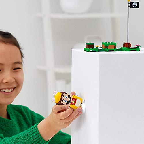 LEGO71372SuperMarioPack Potenciador: Mario Felino, Set de Expansión, Disfraz para Juguete Climb Walls