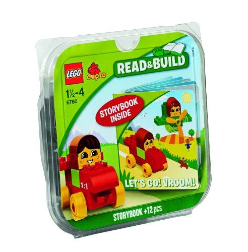 LEGO Duplo 6760 - Ladrillos & Libros ¡En Marcha! ¡Brum, Brum!