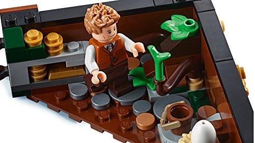 LEGO Fantastic Beasts - Maleta de Criaturas Mágicas de Newt, Juguete de Construcción Inspirado en Animales Fantásticos (75952)