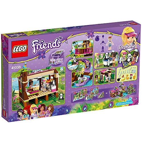 Lego Friends- Selva, la Base de Rescate de la Jungla (41038)