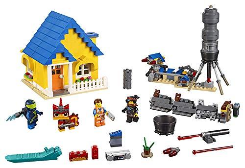LEGO La LEGO Película 2 - Casa de los Sueños/Cohete de Rescate de Emmet, juguete creativo de construcción 2 en 1 con personajes de la película (70831) , color/modelo surtido