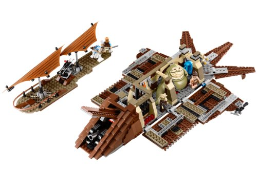 LEGO STAR WARS - Jabba's Sailbarge, Juego de construcción (75020)