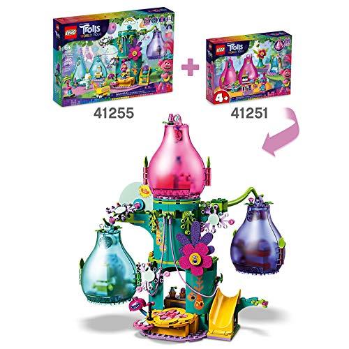 LEGO Trolls - Vaina de Poppy, Set de Construcción de Casa de Muñecas Inspirado en la Película de Animación, Incluye Minifigura de Poppy, Recomendado a Partir de 4 Años ( 41251)