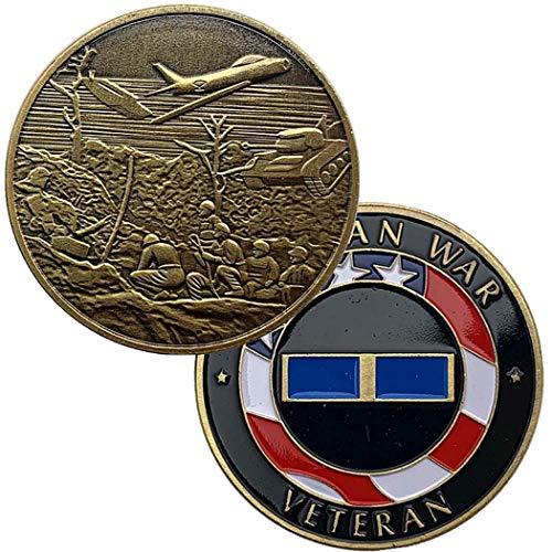 LSJTZ Tanque, avión, Guerra, Retro, colección, Moneda Conmemorativa, Hermoso, Luchador, Comandante, 2pcs