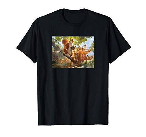 Magic: The Gathering Squirrel Mob Graphic Camiseta
