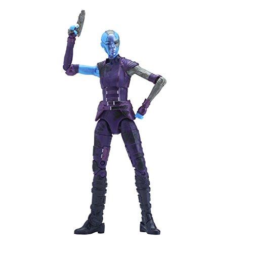 Marvel Guardianes de la Galaxy Leyendas Hijas de Thanos: La Nebulosa, 15,2cm