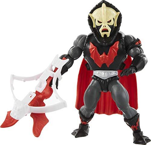 Masters of the Universe (Masters del Universo Orígenes) Figura Hordak, muñeco articulado de juguete (Mattel GVW64)
