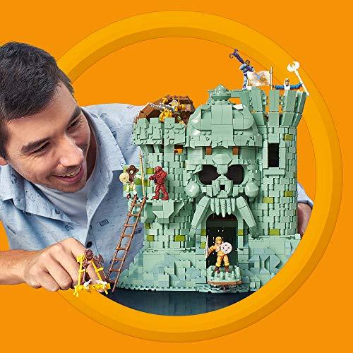 Mega Construx Masters of the Universe Castillo Grayskull, juguete de construcción niños + 14 años (Mattel GGJ67)