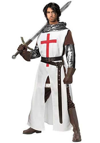 Men's Crusader Fancy Dress Costume Small