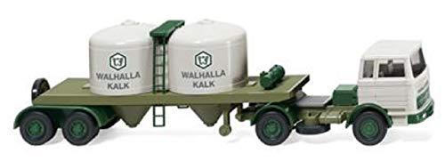Mercedes-Benz MB 1620 Remolque Tractor quimico Walhalla Kalk - Modelo Miniatura - Modello Completo - Wiking 1:87 - Modelo DE Coleccionista