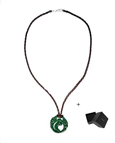 Mesky EU Shadow of The Tomb Raide Collar de Lara Croft Colgante para Mujeres Necklace Pendant Disfraz Cosplay Regalo para Novia en Navidad Fiestas