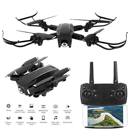 Mini Drone Plegable Drone de transmisión en Tiempo Real Cultivar el interés Niños Juguetes para niños Regalo(Optical Flow 4K HD)