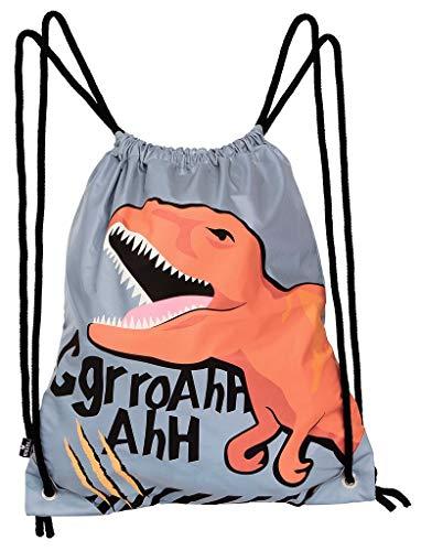 moses. Bolsa de deporte T-Rex l con diseño de dinosaurios para niños, bolsa de deporte reflectante para mayor visibilidad en la oscuridad.