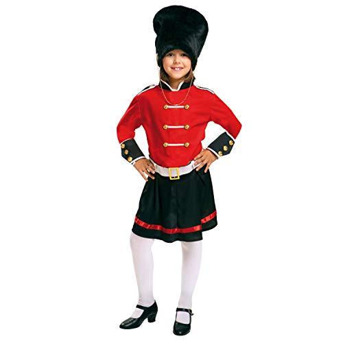 My Other Me Me-200942 Policía Disfraz de guardia inglesa para niña, 7-9 años (Viving Costumes 200942)