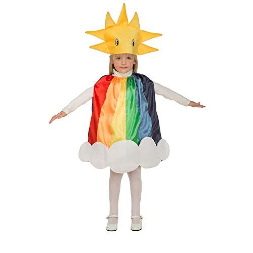 My Other Me Me-204290 Disfraz de Arco iris, 3-4 años (Viving Costumes 204290)