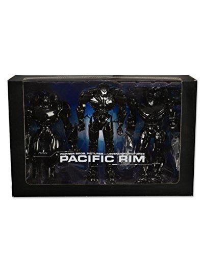 Neca - Figurine Pacific Rim - Pack de 3 Jaeger Deluxe Exclusive SDCC - 0634482608791