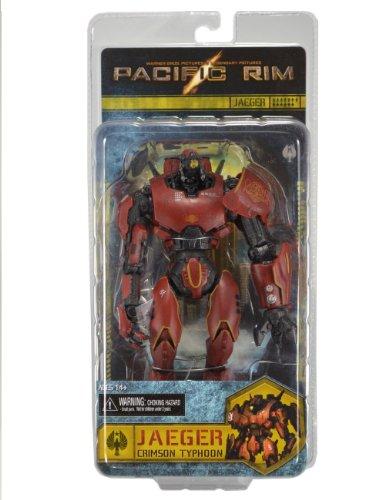 """NECA Pacific Rim- Jaeger """"Crimson Typhoon"""" 7"""" Deluxe Action Figure"""