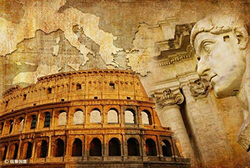 NOBRAND Rompecabezas De 1000 Piezas Rompecabezas El Gran Imperio Romano Hobby Home Decoration DIY