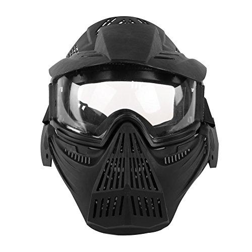 OAREA Máscaras Fantasma táctico al Aire Libre Militar CS Wargame Protección Sombreado Rejilla Máscara Facial Tiro Caza Paintball Accesorios