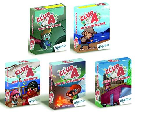 Pack Club A. Colección Completa 5 Juegos