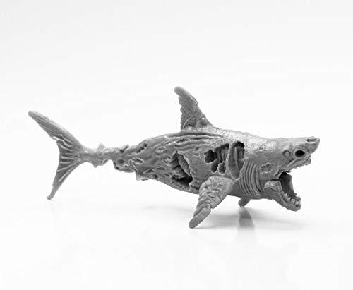 Pechetruite 1 x Zombie Shark - Reaper Bones Miniatura para Juego de rol Guerra - 44112