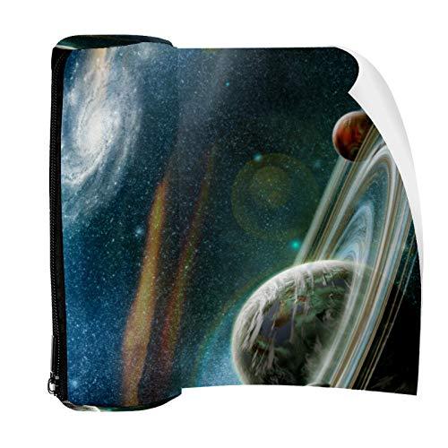 Planets Space Universo - Estuche para lápices con cremallera, organizador de monedas, bolsa de papelería, bolsa de maquillaje para mujeres, adolescentes, niñas, niños y niños