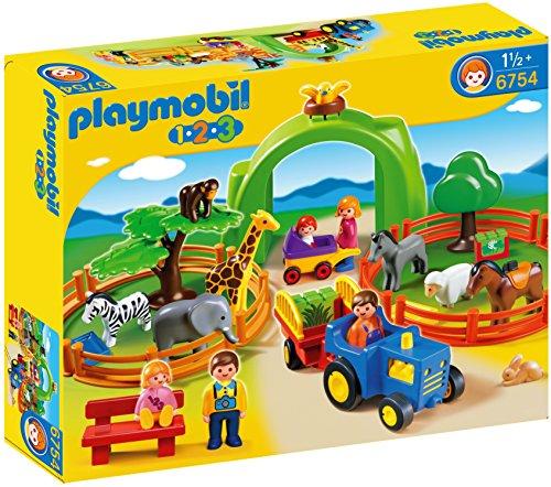 PLAYMOBIL - 1.2.3 Mi Primer Zoo (6754)