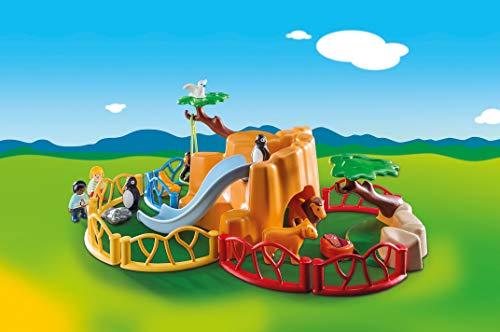 Playmobil- 1.2.3 Zoo Juguete, Multicolor (geobra Brandstätter 9377)